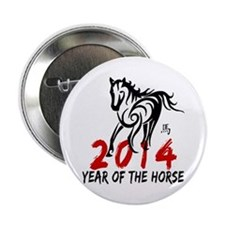 "Year of The Horse 2014 2.25"" Button"