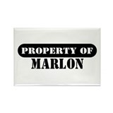 Property of Marlon Rectangle Magnet (100 pack)