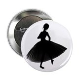 "BALLERINA 2.25"" Button (10 pack)"
