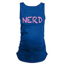 nerd Maternity Tank Top