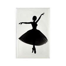 BALLERINA Rectangle Magnet (100 pack)