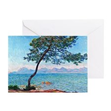 Monet - The Esterel Mountains Greeting Card