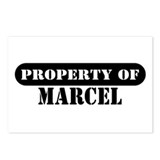 Property of Marcel Postcards (Package of 8)