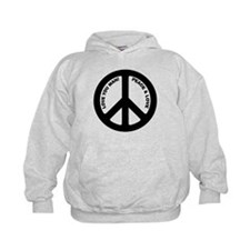 Love You Man Peace Sign Hoodie