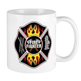 FireFighter Shield Coffee Mug