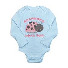 Grandma's Love Bug Long Sleeve Infant Bodysuit