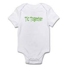 Tic Together Green Infant Bodysuit