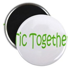 "Tic Together Green 2.25"" Magnet (10 pack)"