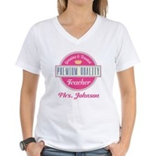 Personalized Vintage Teacher Shirt