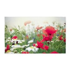 Poppy Field 3'x5' Area Rug