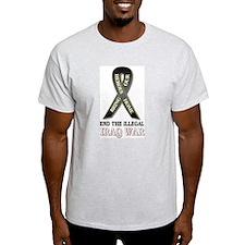 Bring Our Heros Home Ash Grey T-Shirt