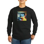 The Piano Player Long Sleeve Dark T-Shirt