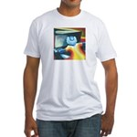 The Piano Player Fitted T-Shirt
