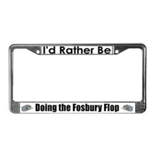 Rather Be High Jumping License Plate Frame