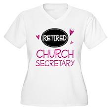 Retired Church Secretary T-Shirt