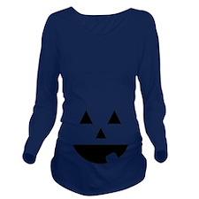 jackolantern Long Sleeve Maternity T-Shirt