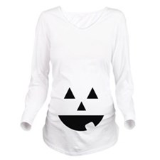 jackolantern Long Sleeve Maternity T-Shirt