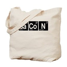Periodic Bacon Tote Bag