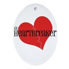 Lil' Heartbreaker Oval Ornament