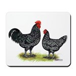 Java Rooster and Hen Mousepad