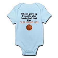 Play Basketball Just Like (Custom) Body Suit