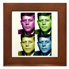 JFK John F. Kennedy Framed Tile