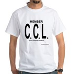 Proud CCL Member White T-Shirt