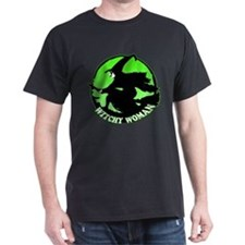 Witchy Woman (Green) T-Shirt