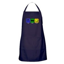 Eat Sleep Tennis Apron (dark)