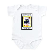 T AO 199 USNS Tippecanoe Infant Bodysuit