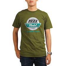 1933 Birthday Vintage Chrome T-Shirt
