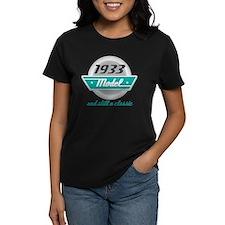 1933 Birthday Vintage Chrome Tee