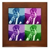 Robert Bobby Kennedy Framed Tile