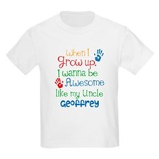 Personalized Awesome Like My Uncle T-Shirt