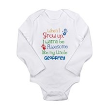 Personalized Awesome Like My Uncle Long Sleeve Inf