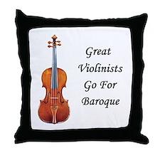 Go for Baroque Throw Pillow