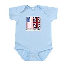 US UK Me Infant Bodysuit