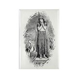 Freyja, Goddess of Love & War Rectangle Magnet (10