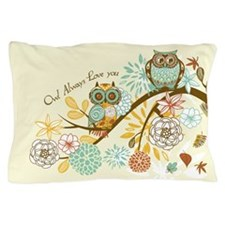 Autumn Owl Pillow Case
