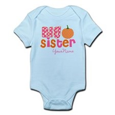 Big Sister Pumpkin Body Suit