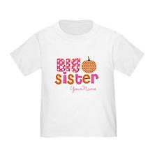Big Sister Pumpkin T-Shirt