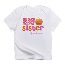 Big Sister Pumpkin Infant T-Shirt