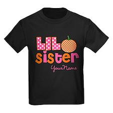 Little Sister Pumpkin T-Shirt