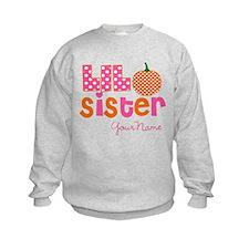 Little Sister Pumpkin Sweatshirt