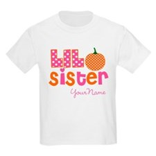 Little Sister Pumpkin T-Shirt