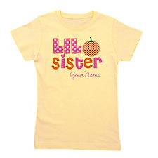 Little Sister Pumpkin Girl's Tee