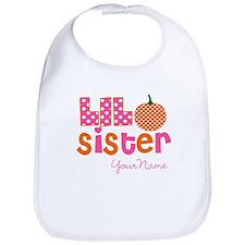 Little Sister Pumpkin Bib
