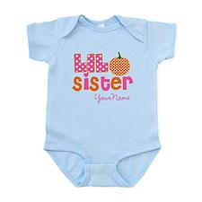Little Sister Pumpkin Body Suit
