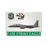 F-15E Strike Eagle Rectangle Magnet