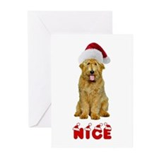 Nice Goldendoodle Greeting Cards (Pk of 10)